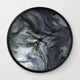 'I'm With You' Psychedelic Resin Artwork Wall Clock