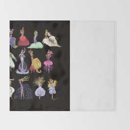 Thumbelina Dresses! Throw Blanket