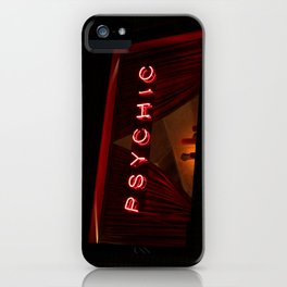 A Distinctive Shade of Red (7th & Bleecker) iPhone Case