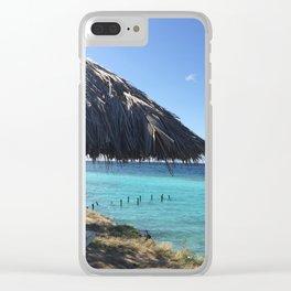 Aruba Palapa Clear iPhone Case