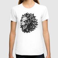 bioworkz T-shirts featuring Lion by BIOWORKZ
