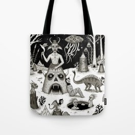 A Grim Hereafter Tote Bag