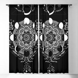Moon Mandala Blackout Curtain
