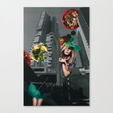 Food fantasy collage series #1 Canvas Print