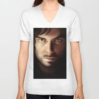 kili V-neck T-shirts featuring Kili by Lidivien