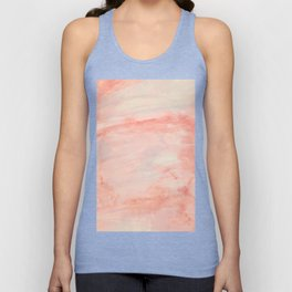 Dramaqueen - Pink Marble Poster Unisex Tank Top