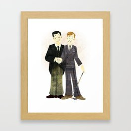 Indeed Sir Framed Art Print