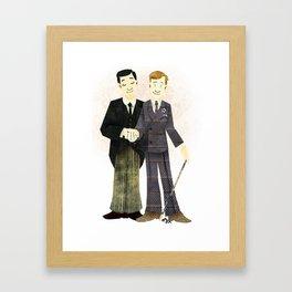 Indeed Sir Framed Art Print