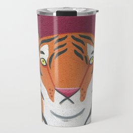 Fire Tiger Travel Mug
