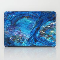 fairies iPad Cases featuring Fairies Paradise by Lily Nava Gallery Fine Art and Design