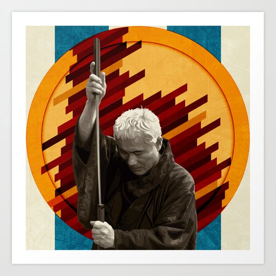Zatoichi, the blind swordsman Art Print