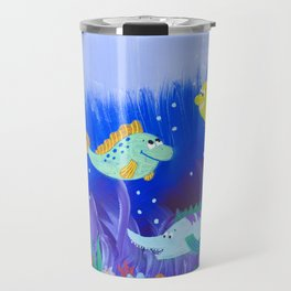 Below the Surface Travel Mug