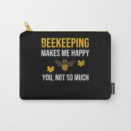 Beekeeper Gifts Beekeeping Bee Whisperer Apiarist Carry-All Pouch