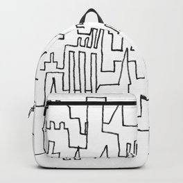 Skylines and Chimneys Backpack