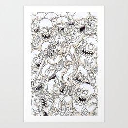 surround Art Print