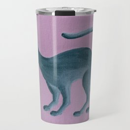 Misha - Russian Blue Travel Mug