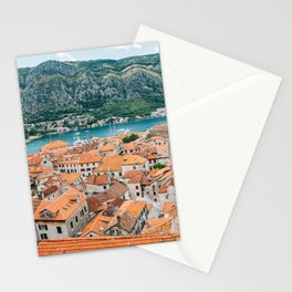 Kotor old town Stationery Cards