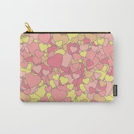 Heart Fever Carry-All Pouch