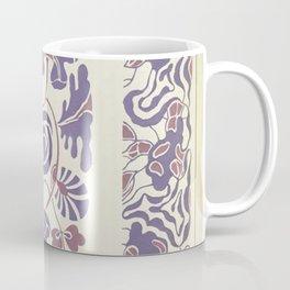 vintage floral pattern art deco design Coffee Mug
