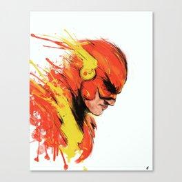 Fastest man  Canvas Print