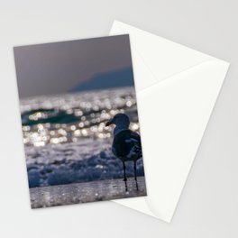 Afternoon Seagull Stationery Cards