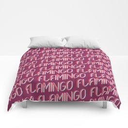 FLAMINGO FLAMINGO FLAMINGO Comforters