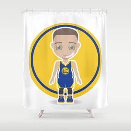 Steph Curry Shower Curtain