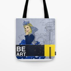 BE  ART Tote Bag