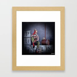 Puddin Framed Art Print