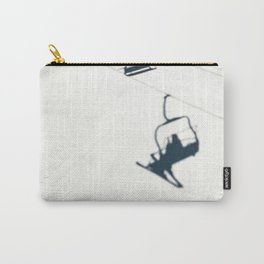 Chair lift shadow Carry-All Pouch