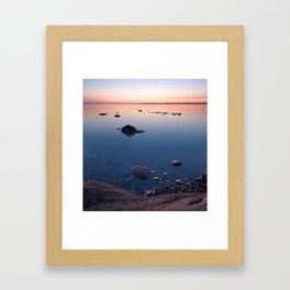 Twilight Fundy Framed Art Print