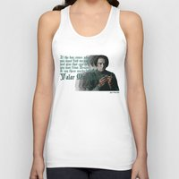 arya Tank Tops featuring Arya Stark, Valar Morghulis by Your Friend Elle
