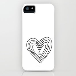 All Day. Every Day. Heartbeats for NYC. iPhone Case