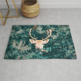 Oh Deer! Pop-art style / boho / influence / fall season Rug