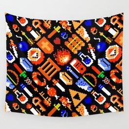 The Legend of Zelda pattern    legendary items Wall Tapestry