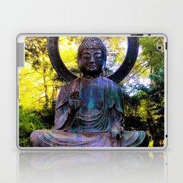 Buddha in the park Laptop & iPad Skin