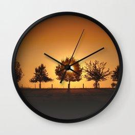 Beautiful Nature Panorama Wall Clock