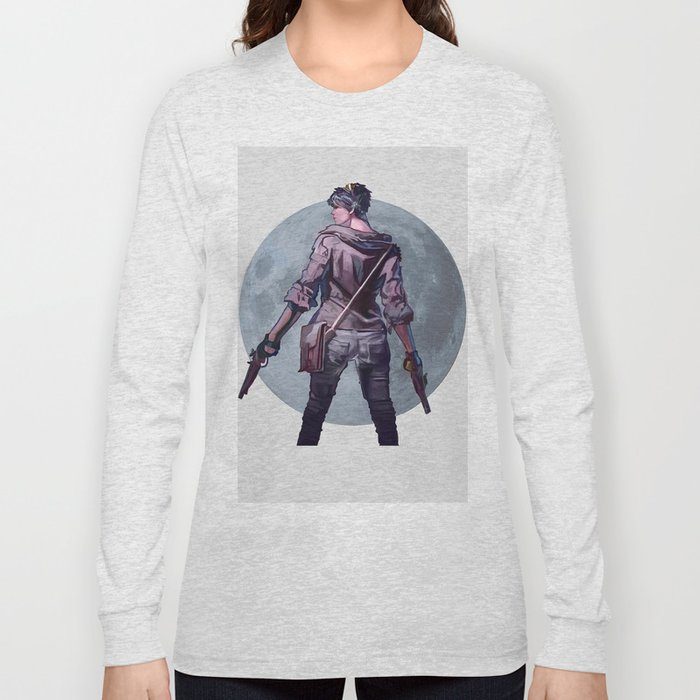 Moon girl Long Sleeve T-shirt