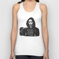 memphis Tank Tops featuring Scream Memphis by negativecreep