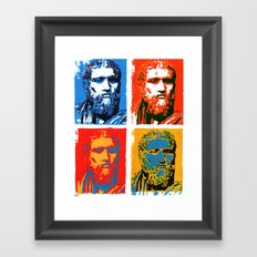 Plato  Framed Art Print