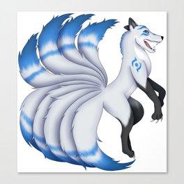 Edan the Kitsune Canvas Print