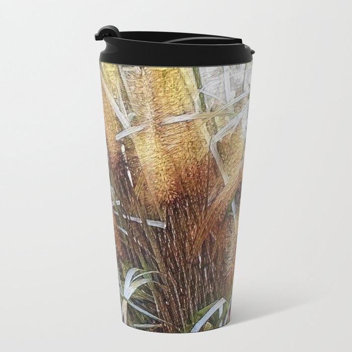 Seagrass Metal Travel Mug