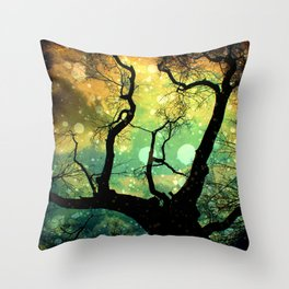 Drifting in the Evernight Throw Pillow