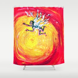 ICARUS       by Kay Lipton Shower Curtain