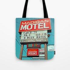 Madigan Motel Tote Bag