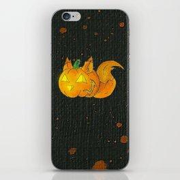 Wolf-o-Lantern iPhone Skin