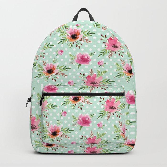 Floral vintage pattern Backpack