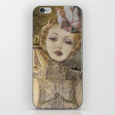 The life of a girl in the circus. iPhone & iPod Skin