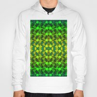 green pattern Hoodies featuring Green pattern. by Assiyam
