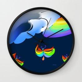 """""""Better Days"""" Wall Clock"""
